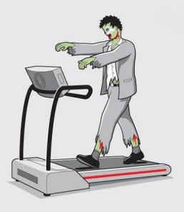 zombie treadmill