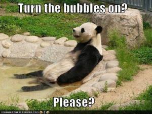 panda hot tub