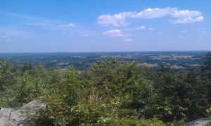 View from the top of Sugarloaf Mountain! (Read: needed some time to seriously catch my breath...)
